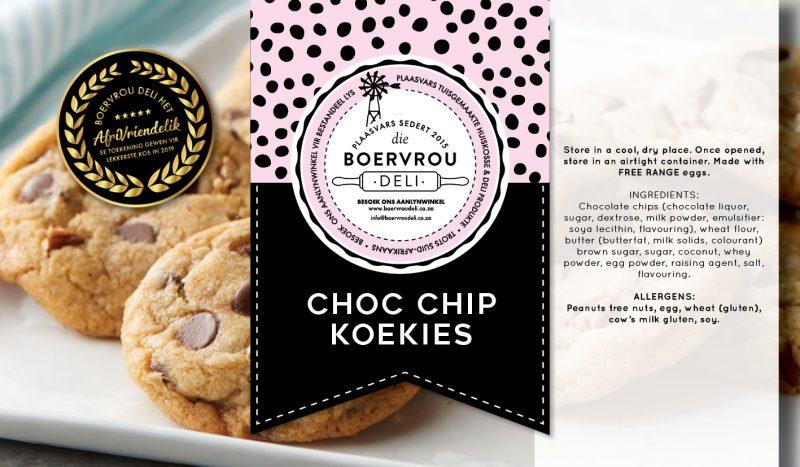 Choc Chip Koekies