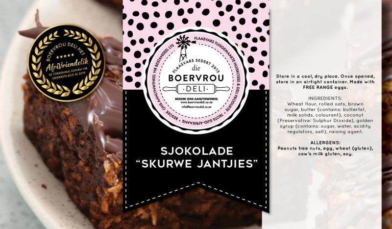 Sjokolade Skurwe Jantjies