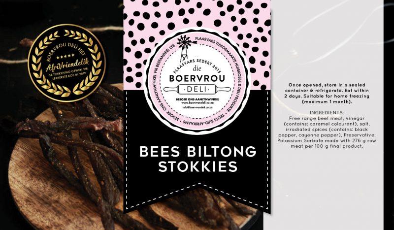 Bees Biltong Stokkies